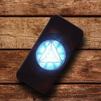iron man heart Wallet iPhone cases Arc Reactor Samsung Wallet Leather Phone Case