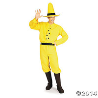 Curious George Adult Men's Costume