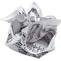 MoMA Store - Sheet Music Paperweight