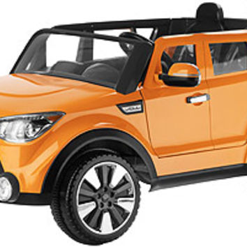 Kid Trax Kia Sing-A-Long Soul 12V Ride On - Orange