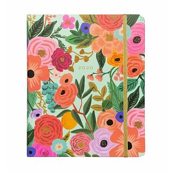 RIFLE PAPER CO. 2020 GARDEN PARTY CLASSIC COVERED SPIRAL BINDING