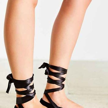 Jeffrey Campbell Susy Lace-Up Flat