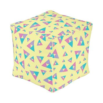Triangle 1 outdoor pouf
