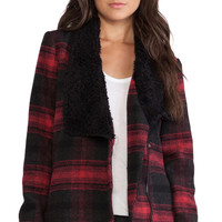 Jack by BB Dakota Rydell Plaid Jacket in Red