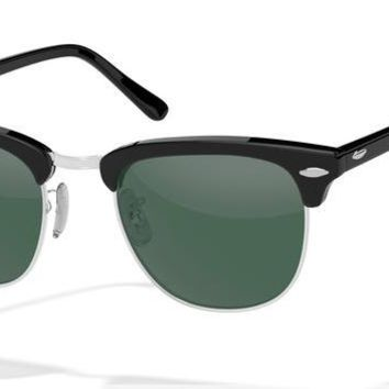 Ray Ban Clubmaster - Silver & Black