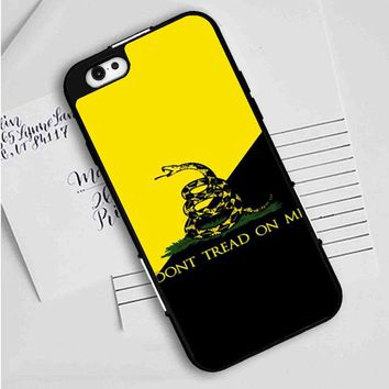American Gadsden Flag Don't Tread On Me iPhone Case