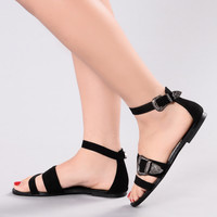 They Notice Sandal - Black