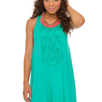 Letty Fringe Dress