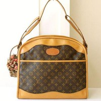 Louis Vuitton Bag Very Rare Vintage Luggage Travel Brown Monogram Shoulder Handbag Aut