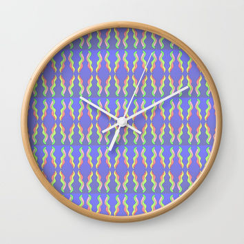ribbon 26-ornamental,fabrics,fashion,decorative,girly,gentle Wall Clock by oldking