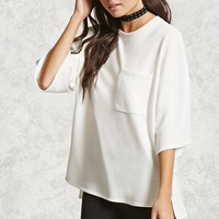 Oversized High-Low Pullover