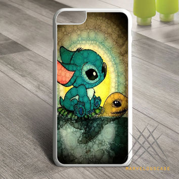 Stitch-and-Turtle-art Custom case for iPhone, iPod and iPad