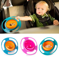 360 Rotate Spill-Proof Promotion Baby Bowl Children's Toddlers Baby Kids bowl Non Spill Eat Food Snacks Bowl Lunch box lunch box