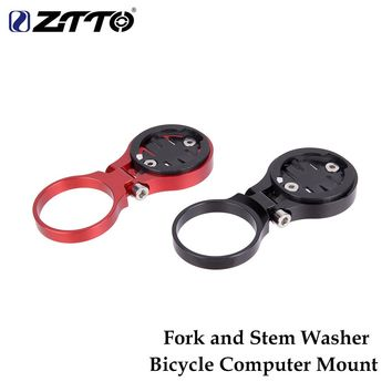 ZTTO MTB Road Bike Bicycle Computer Mount Holder Fixed on Stem Or Fork Bicycle Parts For GARMIN For CATEYE For CATEYE Used