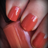 Fall Sunset ARIA Indie Nail Polish Handmade Lacquer Custom