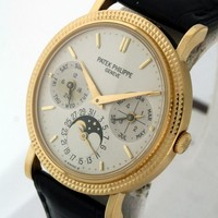Patek Philippe 5039J Perpetual Calendar, Moonphase RARE Automatic gent's watch.