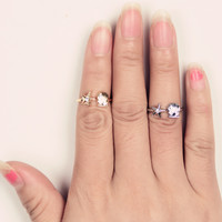 New Arrival Gift Shiny Jewelry Stylish Accessory Strong Character Simple Design Metal Ring [4918840068]