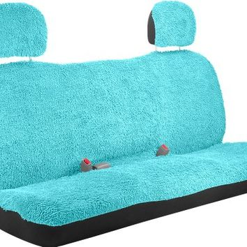 Bell Automotive 22-1-56874-9 Turquoise Shaggy Standard Bench Seat Cover SALE | The worlds best products