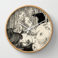 Love in vain Wall Clock by manuelsart