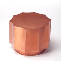 Butler Daud Copper Side Table
