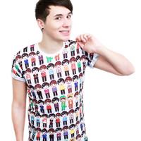 Pixel people T-Shirt