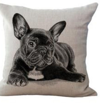= : Show Your Love : = Pets Series Cushion Pillow Cover(Puppies)