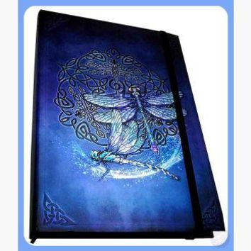 """Celtic Dragonfly "" Journal"