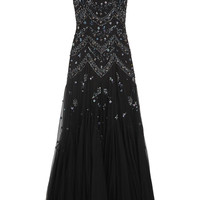 Needle & Thread - Embellished tulle gown