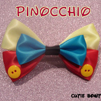 Pinocchio Hair Bow Disney Inspired