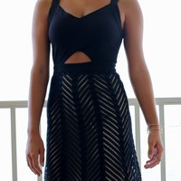 Melbourne Black Sleeveless Dress