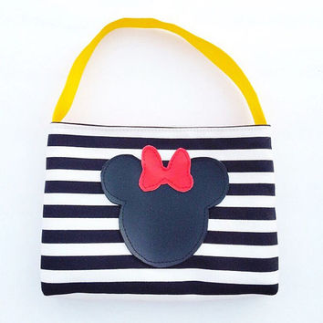 Minnie Mouse Toddler purse / little girl purse / toddler tote / classic red yellow minnie