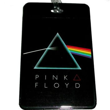 Pink Floyd The Dark Side Of The Moon Luggage or Book Bag Tag