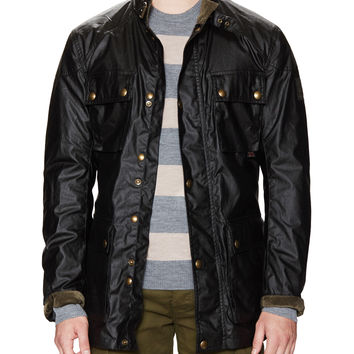 Belstaff Men's Roadmaster Signature Waxed Jacket - Black -