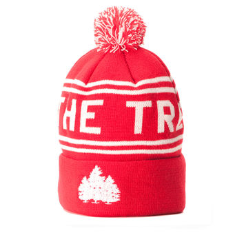 Hit the Trees Beanie Red
