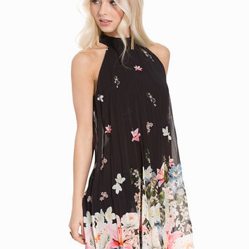 Floral Bottom Swingers Dress, Lipsy