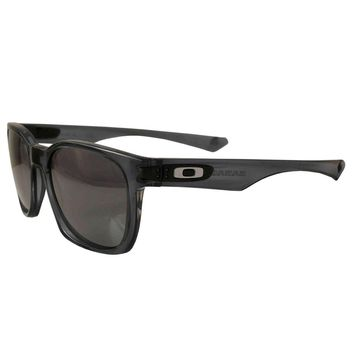 Oakley Garage Rock Sunglasses Crystal Black Frame Black Iridium Lens 009175-05