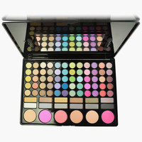 Classical 78-Color Eye Shadow/ Blusher/Bronzes Make-Up