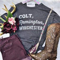 Colt, Remington, Winchester Graphic Tee