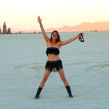 Burning man Clothing - Native American Inspired - Hippie - Festival Fashion - Festival Clothing - Rave Costume