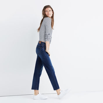 Cruiser Straight Crop Jeans in Shane Wash : | Madewell