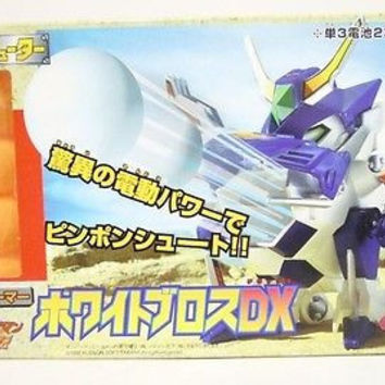 Takara Super Battle B-Daman Bomberman DX B-11 White Model Kit Figure