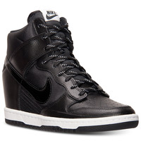Nike Women's Dunk Sky Hi Essential Sneakers from Finish Line
