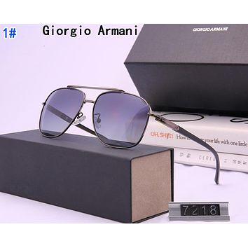 Giorgio Armani Fashion Men Summer Shades Eyeglasses Glasses Sunglasses 1#