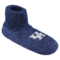 Kentucky Wildcats Slipper Socks - Men (Blue)