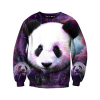 Purple Panda Sweatshirt