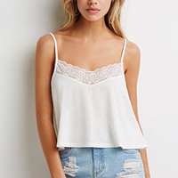 Ornate Lace-Trimmed Cami