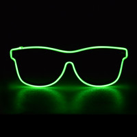 Green El Wire Wayfarer