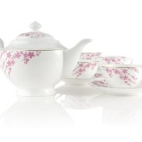 Sakura Petals Bone China Tea Set at Teavana        | Teavana