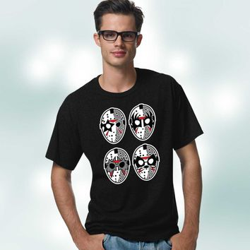 Jason Hockey Mask KISS Style T-Shirt
