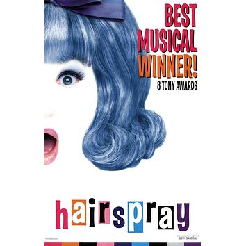 Hairspray 27x40 Broadway Show Poster